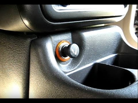 Using a Power Outlet Socket for Car Accessories